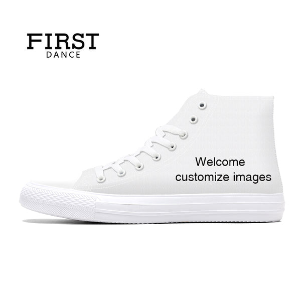 2018 Canvas Shoes Mens Casual Custom 3D Printed Shoes