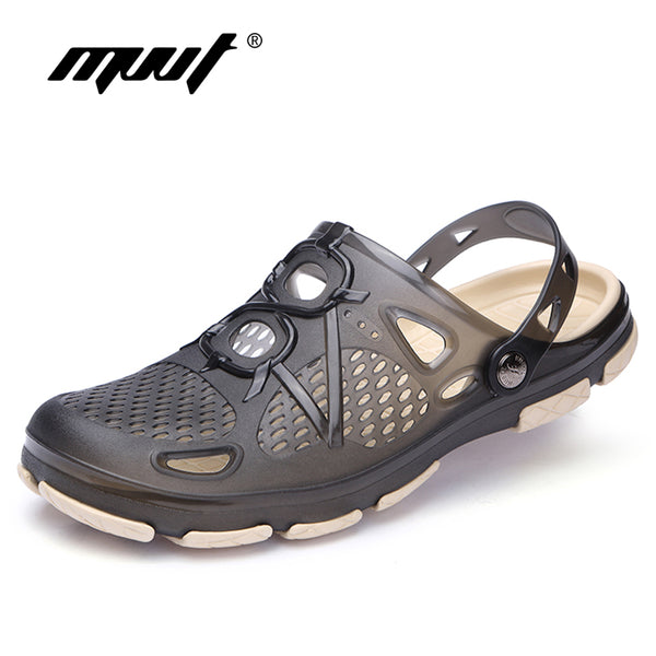 2018 New Summer Jelly Shoes Men Beach Sandals