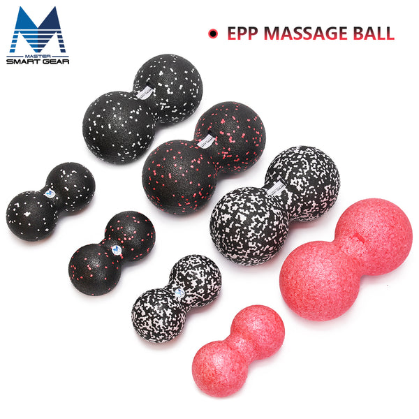 EPP Lacrosse Ball Fitness Peanut Ball Therapy Gym Relax Exercise Massage Ball For Yoga Free Shipping