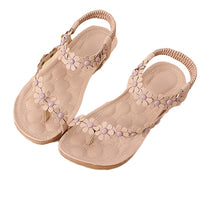 Sandals 2018 Bohemia Women's Shoes Flower
