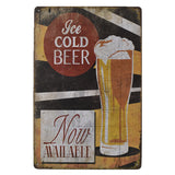 Beer Style Around The World Metal Tin Neon Sign Vintage Party Plague Wine Decor Board Pastoral Poster Wall Art 20x30cm