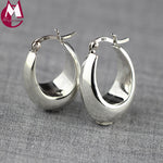 100% Real Sterling Silver Earrings
