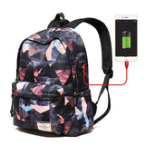 "Backpack Girls 15.6"" Waterproof for teens"