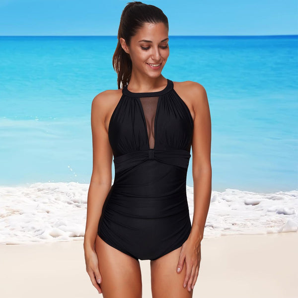 Sexy Women One Piece Swimsuit Plus Size Swimwear