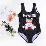 Swimsuit 2019 One Piece Mickey Swimsuit Woman