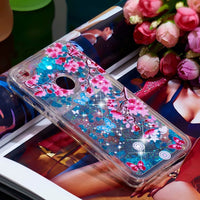 Shiny Liquid Bling Dynamic Quicksand Clear Silicone Case Cover For Huawei P10 Lite Y5 Y6 Y7 2017 Honor 9 7X 6C 7C Glitter Coque