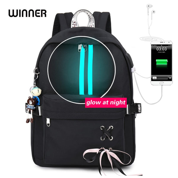 WINNER Waterproof Backpack Anti-theft