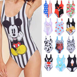 20 Pattern Styles Women One Piece Swimsuit 3D Print One-pieces Swimsuits Swimwear One-Piece Suits