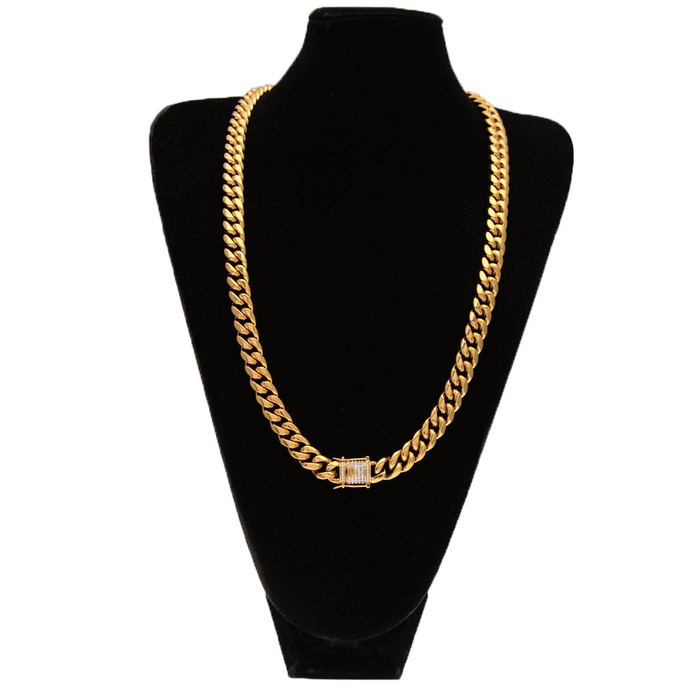 Miami Cuban Link 18K Gold Plated