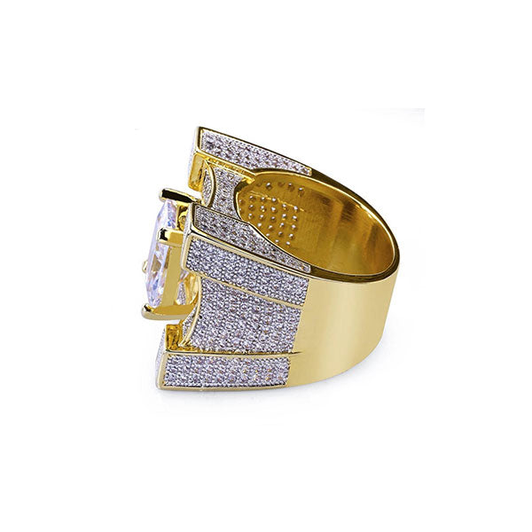 18K Gold Diamond Kingsforth Ring
