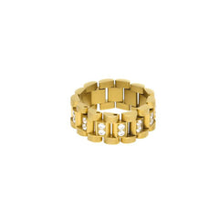 18K Gold Diamond Luxarel Ring