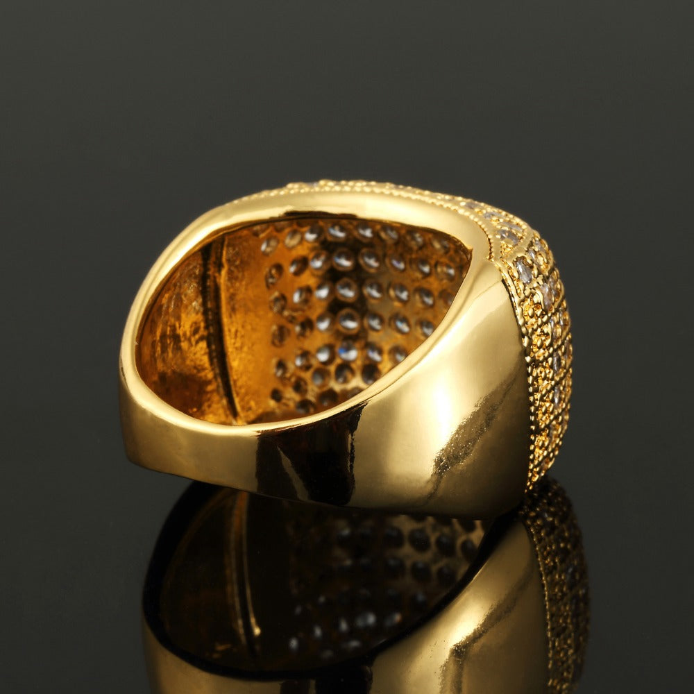 18K Gold Diamond Luxzor Ring