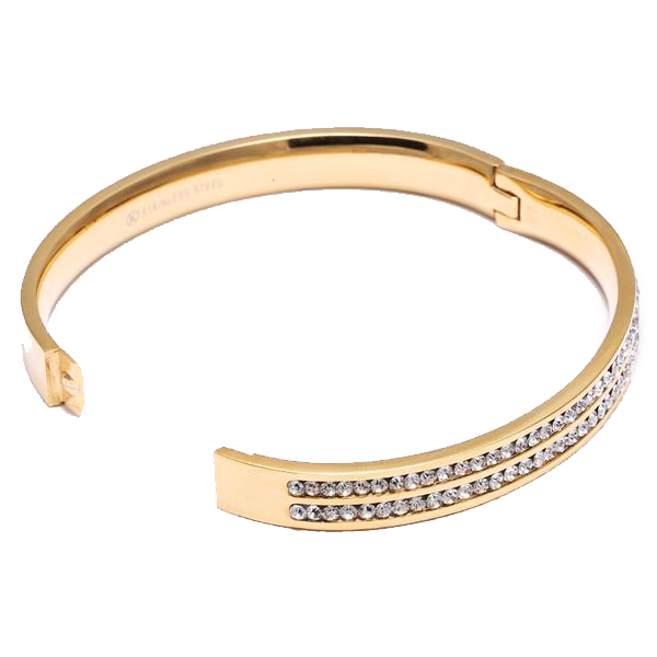 18K Gold Diamond Bracelet