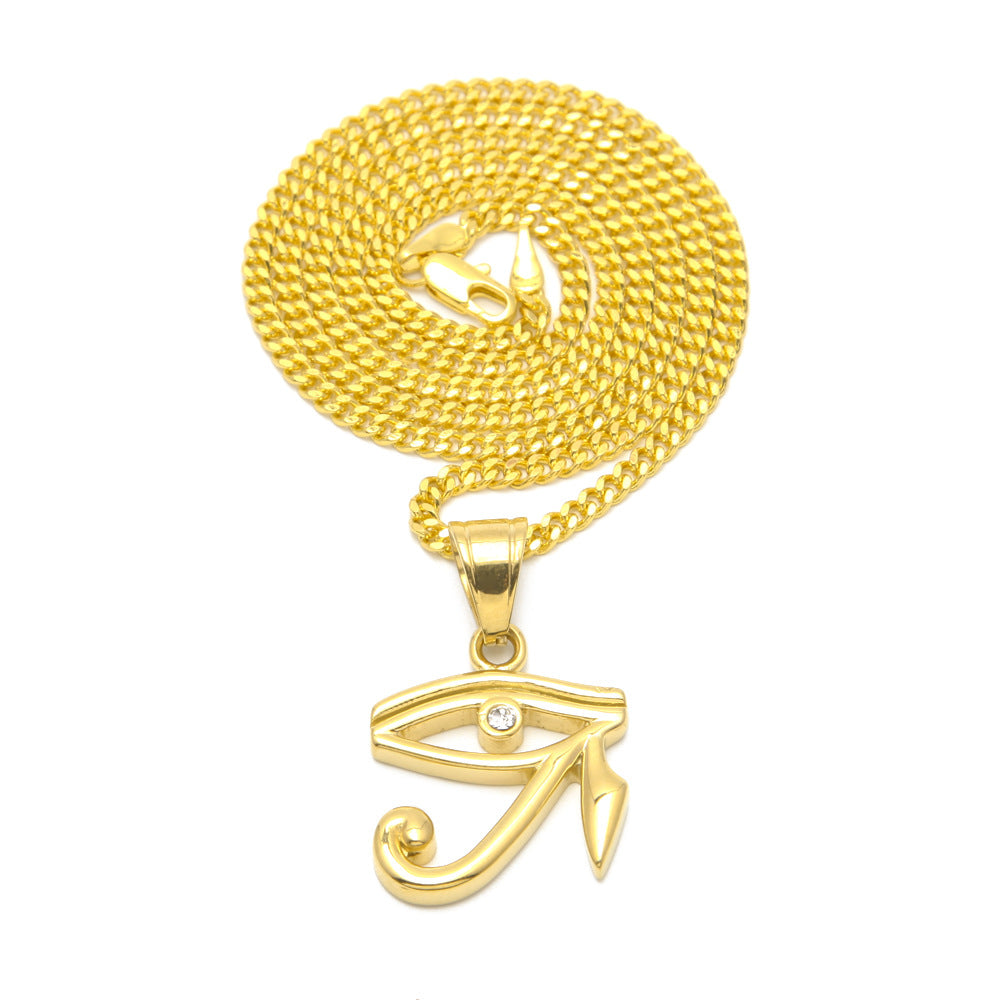 18K Gold The Eye Of Horus Pendant