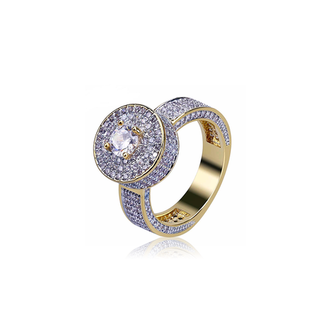 18K Gold Diamond Luxadore Ring