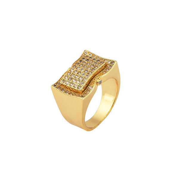 18K Gold Diamond Exquiza Ring