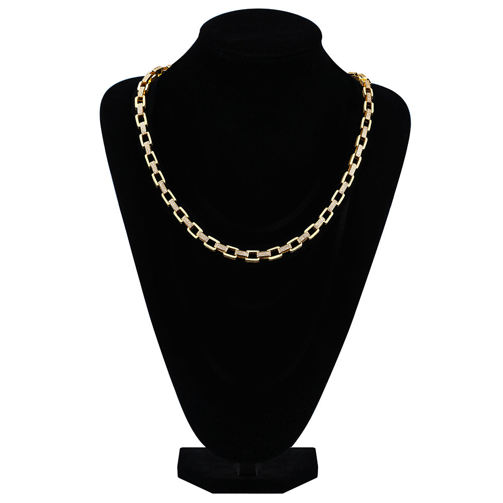 Goliath Iced Necklace 18K Gold