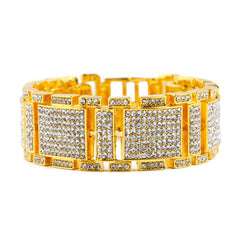 14K Gold Diamond King Bracelet