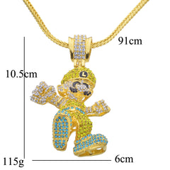 Luiigi Iced Out Necklace