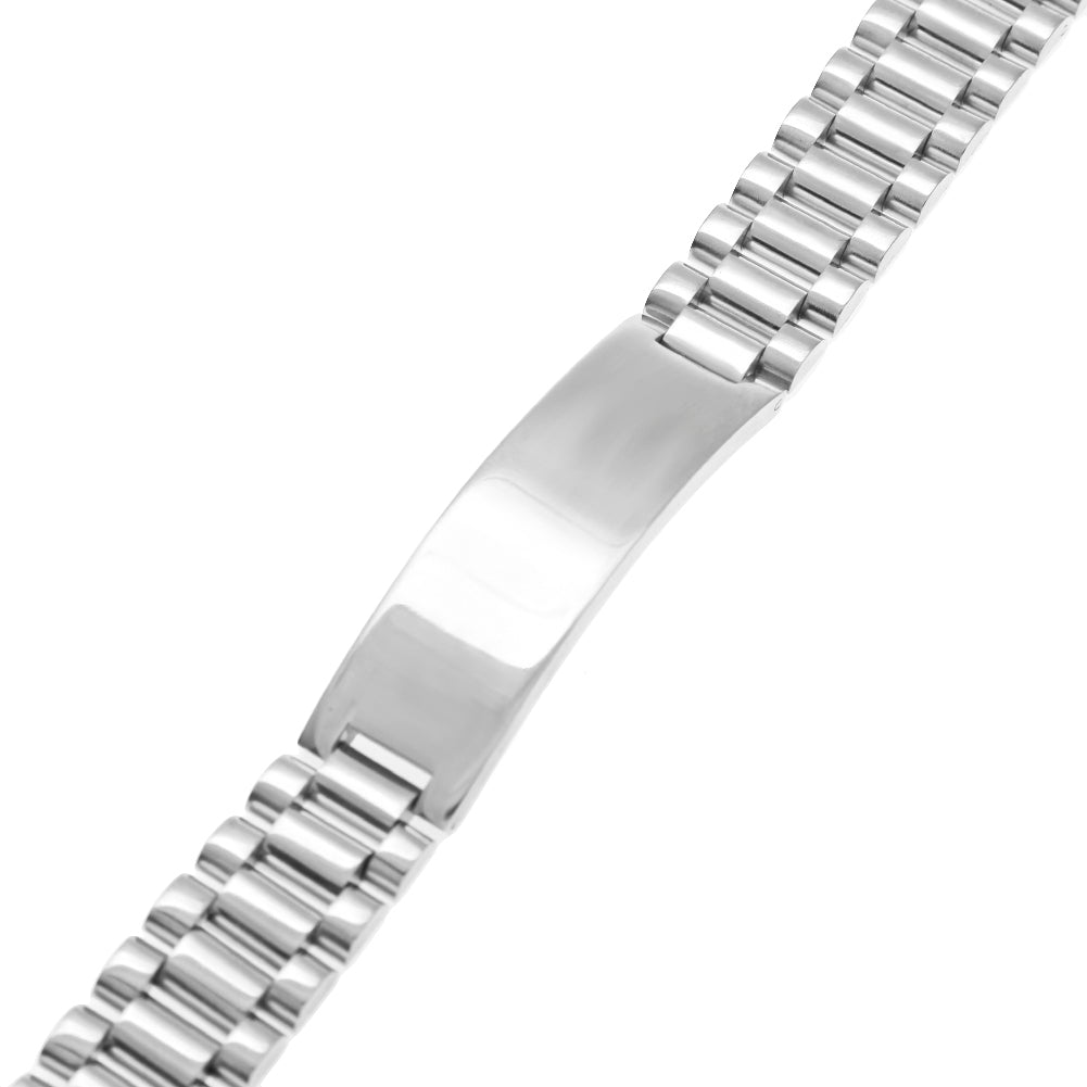 18K White Gold Big Ben Bracelet