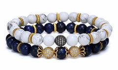 18K Gold RichLand Beaded Bracelet