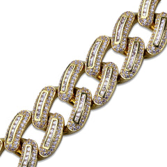 Diamond Miami Cuban Link 18K Gold