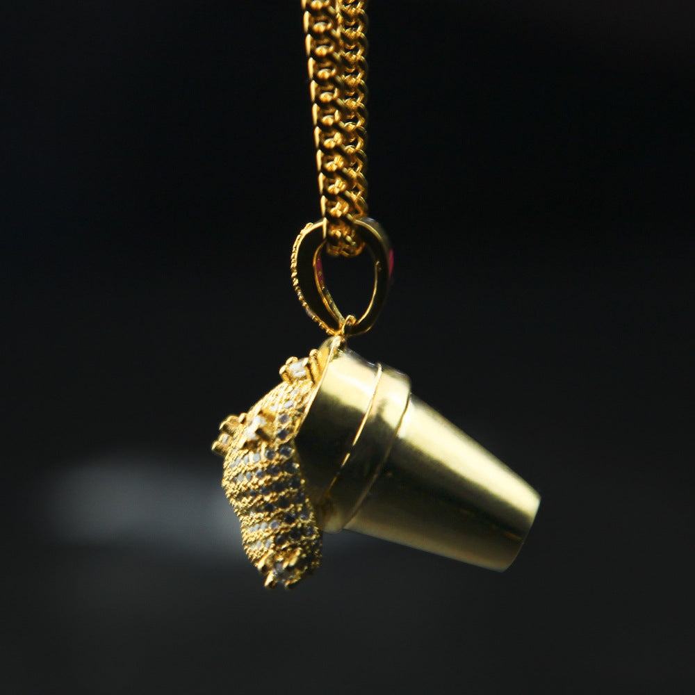 Syrup Gold Necklace