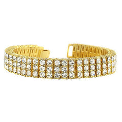 Iced Out bracelet Gold