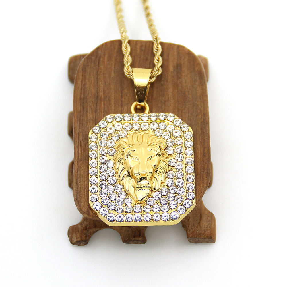 Lion Head Necklace