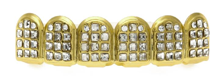 Grillz Iced Out Gold