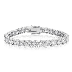 Tennis Diamond Bracelet White Gold