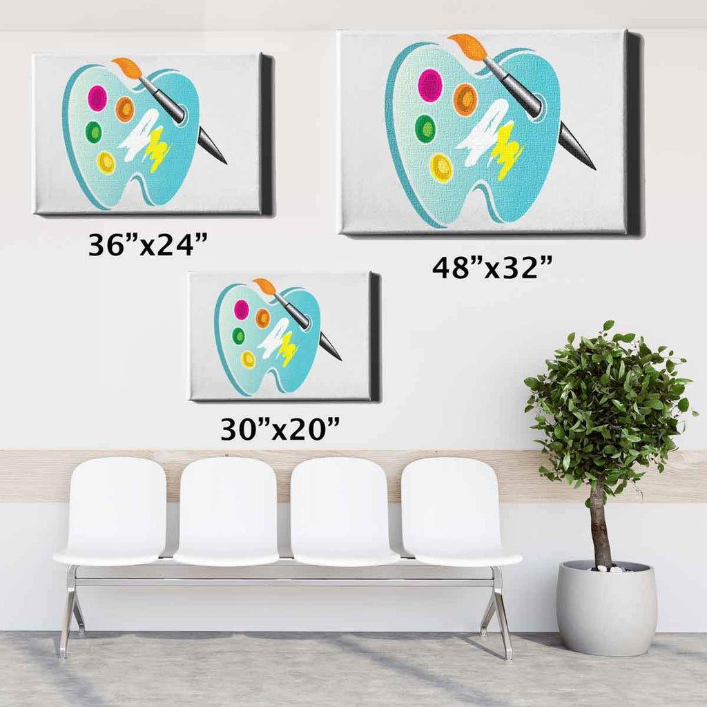 Dental Office Canvas Wall Art 30x20 36x24 48x32