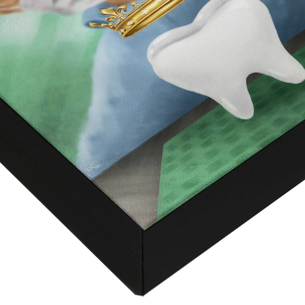 Dental Office Canvas Wall Art Gallery Wrapped Corner Dental Crown
