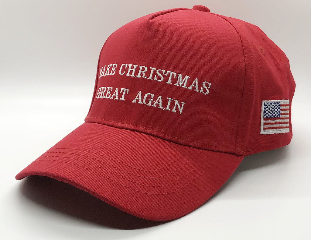 Make Christmas Great Again Hat - I Love My Freedom