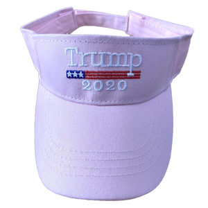 Pink Trump 2020 Visor - I Love My Freedom