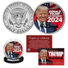 Donald Trump For President 2024 Coin