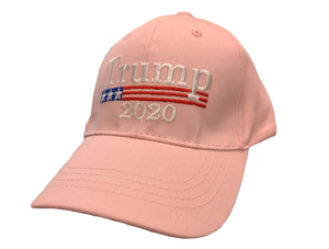Pink Trump 2020 Hat - I Love My Freedom