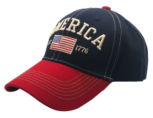 America 1776 Freedom Hat - I Love My Freedom