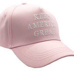 Pink Keep America Great Hat - I Love My Freedom