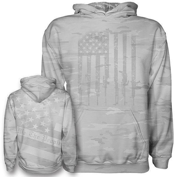 Arctic Camo We The People Hoodie - Greater Half