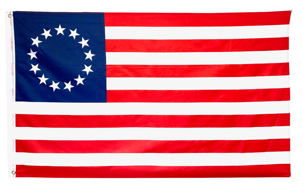 Betsy Ross American Flag - I Love My Freedom
