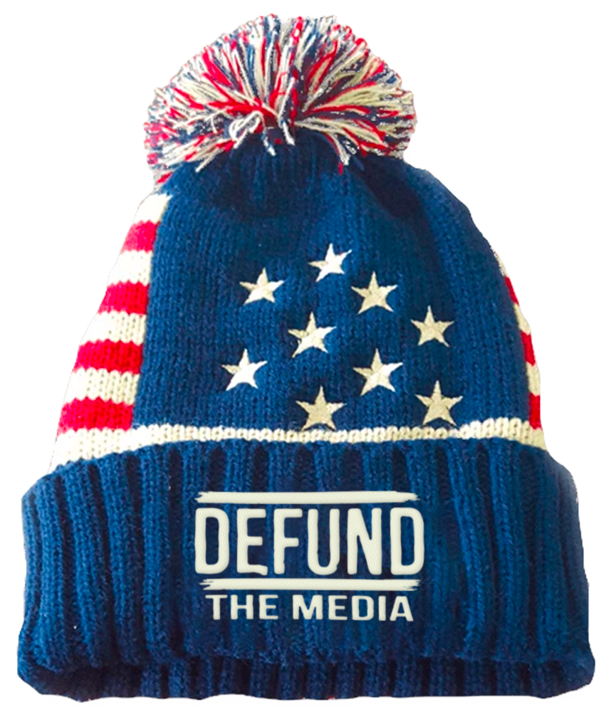 Defund The Media Winter Beanie