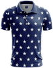 Stars No Bars Golf Polo - Greater Half