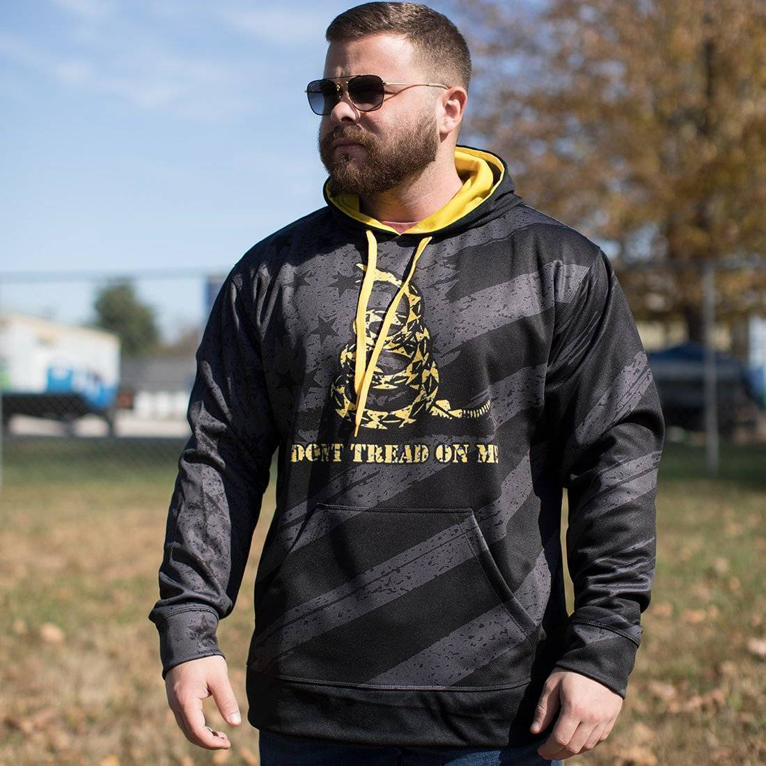 Don't Tread On Me Hoodie - Greater Half