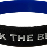 Back The Blue Wristband
