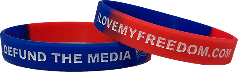 Defund The Media Wristband