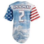 Team America 2nd Amendment Baseball Jersey v2 - I Love My Freedom