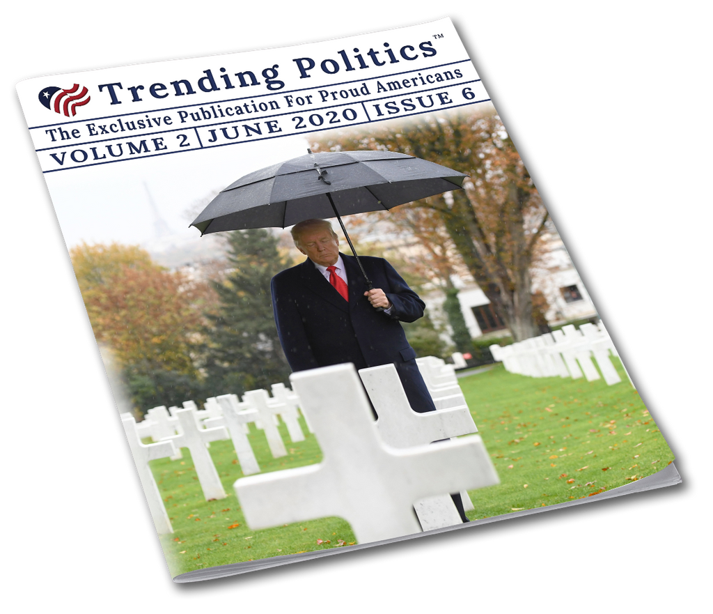 Volume 2 Issue 6 - June 2020 Trending Politics Newsletter - I Love My Freedom