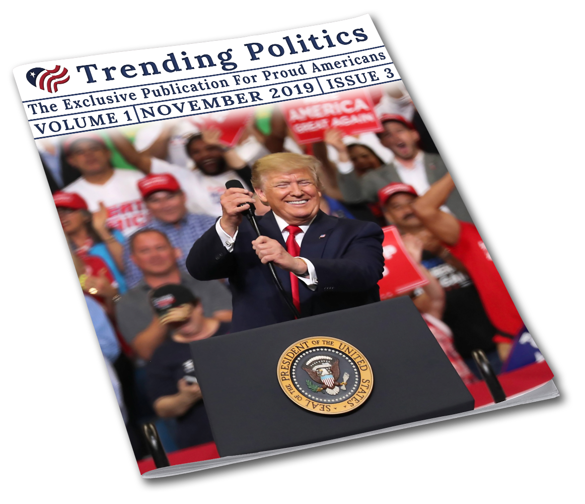 Volume 1 Issue 3 - November 2019 Trending Politics Newsletter - I Love My Freedom