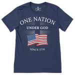One Nation Under God T-Shirt - I Love My Freedom